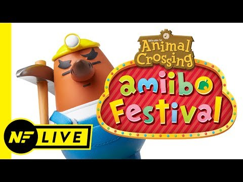 Playing Animal Crossing: amiibo Festival with Carter & Calvin!   NF Live