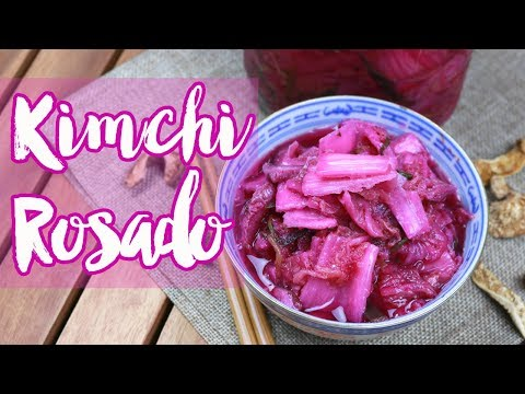 COMO HACER KIMCHI COREANO PASO A PASO: Con Col Fermentada Repollo | Comida Tipica de Korea del Sur