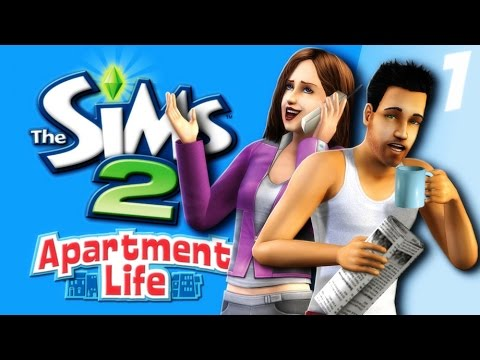 Let's Play: The Sims 2 Apartment Life - (Part 1) - Create A Sim