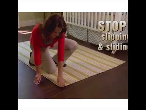 ⛔ STOP Your Mats and Rugs from Slipping ⛷ Prevent Falls  rugs corners from c