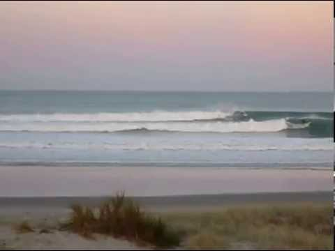 Surfing Omaha, New Zealand