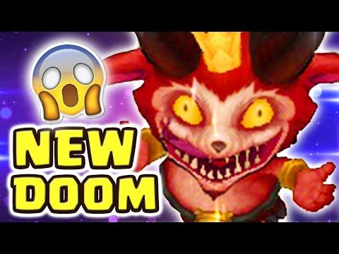 THE CRAZIEST GAME MODE EVER MADE NEW DOOM BOTS | LITTLE DEVIL TEEMO SKIN SPOTLIGHT - Nightblue3