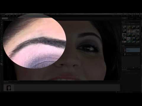 Photoshop Elements Fixing Dark Baggy Eyes