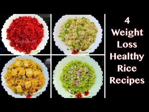 4 HEALTHY RICE RECIPES FOR WEIGHT LOSS