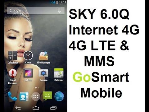 GoSmart Mobile 3G 4G APN Settings for Sky 6.0Q and Other Models