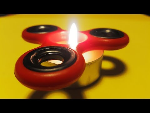 5 Fidget Spinner Awesome Ideas and Fire Tricks.