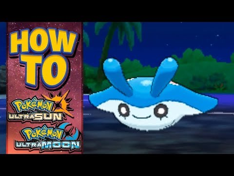 HOW TO GET Mantyke in Pokemon Ultra Sun and Moon