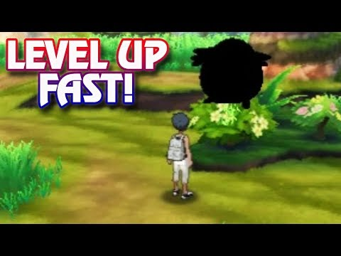 Pokemon Ultra Sun and Ultra - How To LEVEL UP FAST!