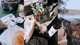 weekend in my life | solo road trip to maine + express haul
