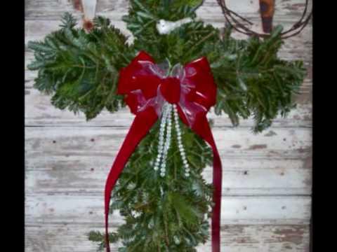Wreath making tutorial