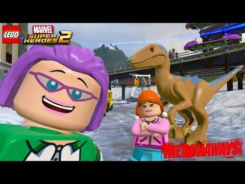 LEGO Marvel Super Heroes 2 - Gertrude Yorkes Free Roam Gameplay (The Runaways DLC)