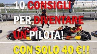 Come diventare un pilota di auto in pista con soli 40 euro! 10 consigli!