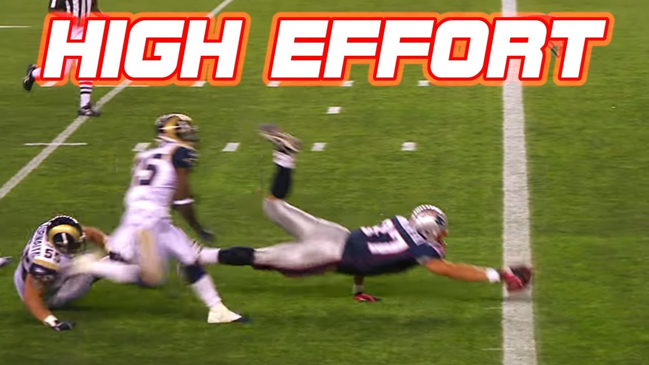 "NFL ""Super-Human"" Plays || High Effort Plays Part 1"