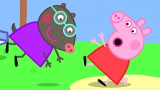 Peppa Pig Official Channel | Peppa Pig Meets the New Pupil Molly Mole at the Playground!