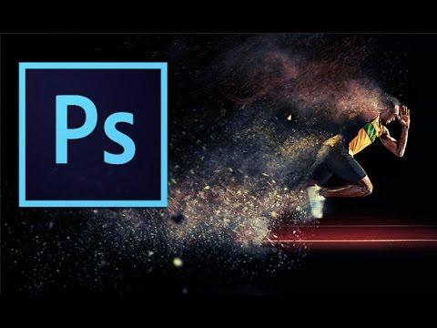 Sand Storm Effect (Disintegration) Adobe Photoshop + Action