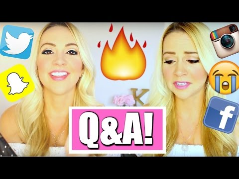 Q&A: How to Kiss | My First BF | Anxiety | Long Distance Dating | Teen Love + More! #AskKimberly