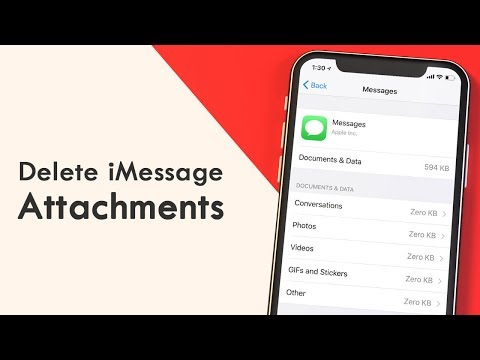 How to Delete Multiple iMessage Attachments at Once in iOS 11