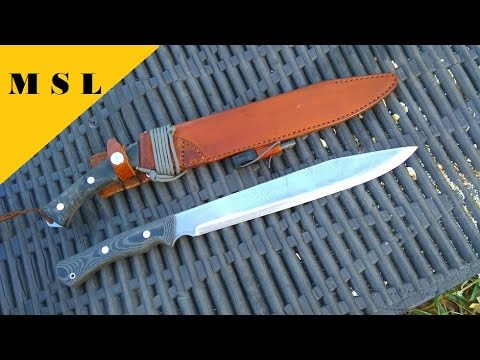 First Stainless MSL Survival Bolo Knife