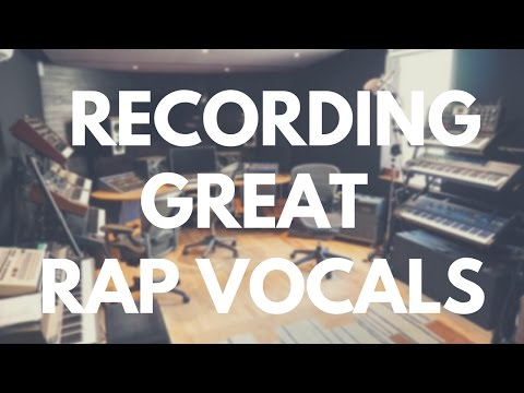 Recording Professional Rap Vocals in 3 Steps