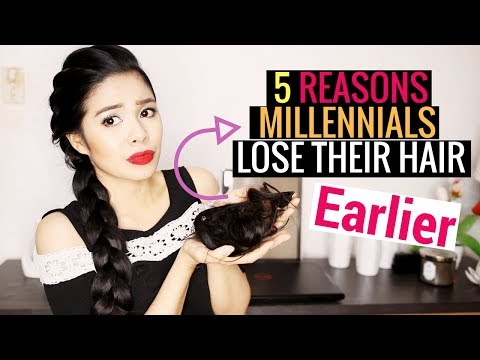 5 Reasons Millennials Lose Their Hair Early -Beautyklove