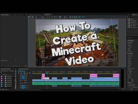 How to Make Minecraft Videos! - Ask a Minecrafter (Ep.7)