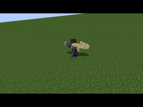 Rocket Jumping Test Animation In Mine Imator