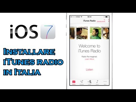 Come abilitare iTunes Radio in Italia (iOS 7/8)