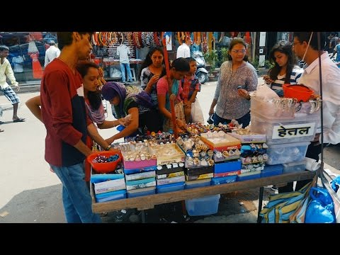 Mumbai Bhuleswar Shopping Market for Ladies,Women and Girls.Places for Woman in India.Wholesale