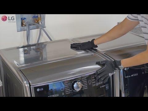 LG Front Load Washing Machine - How to Reduce Vibration