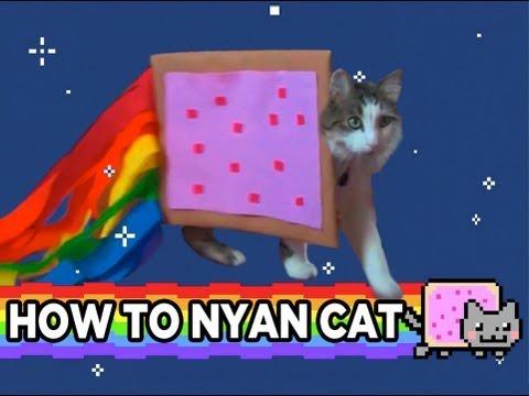 HOW TO NYAN CAT