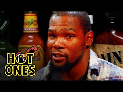 Kevin Durant Sweats It Out Over Spicy Wings | Hot Ones