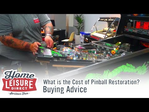 What is the Cost of Pinball Restoration?