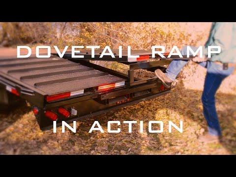 Big Bubba's Trailers: Dove-Tail Ramp