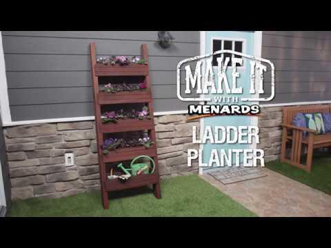 Ladder Planter - Make It with Menards