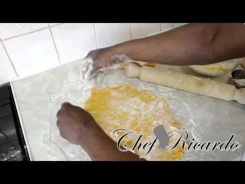 Curry Vegetable Patty Original Jamaica Quick & Easy | Recipes By Chef Ricardo
