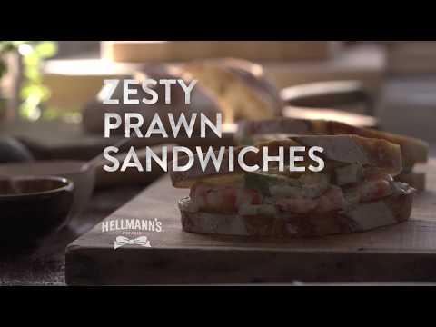 Hellmann's | Zesty Prawn Sandwiches