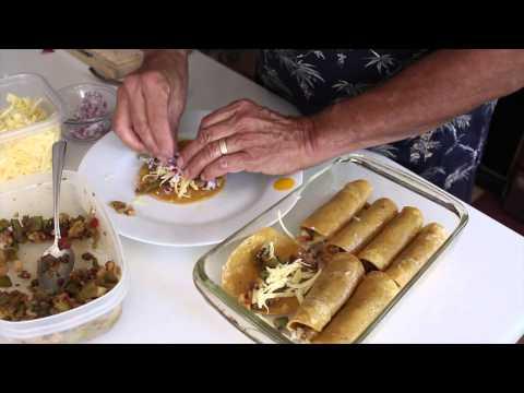 Healthy Easy Beef Enchiladas!
