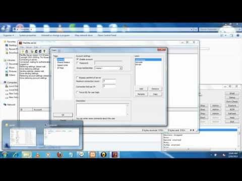 Configure FTP on xampp
