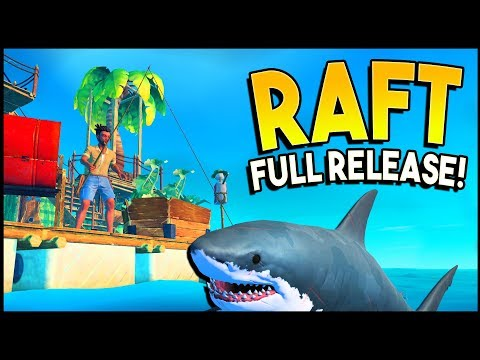 HUGE Update With New SECRETS, New Islands, Sailing, New Shark! - Raft Gameplay
