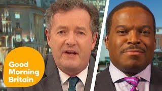 Piers Morgan Fumes at Democrat for Comparing Trump to Hitler | Good Morning Britain