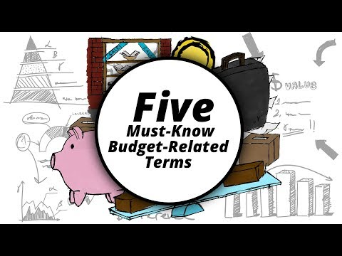 5 Must-Know Budget-Related Terms