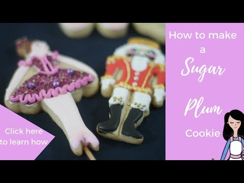 How to make a sugar plum cookie in Spanish