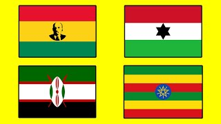 Fun with Flags AFRICA Edition - Countries That Don't Exist