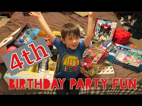 Alyster's 4th Birthday Party | Toddler Power Ranger Party