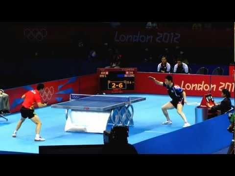 Ma Long (China) vs Ryu Seung-Min (Korea) London 2012 Olympics Table Tennis Match