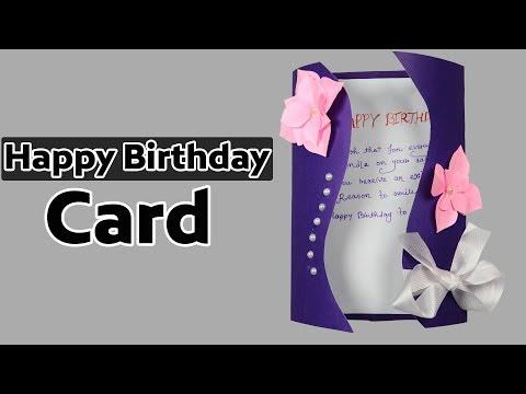 Birthday Greeting Cards: Special Handmade Birthday Greeting Card | DIY Paper Crafts