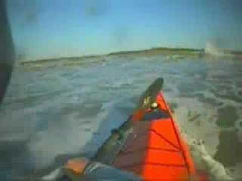 Sea Kayak Surfing - Marco Island
