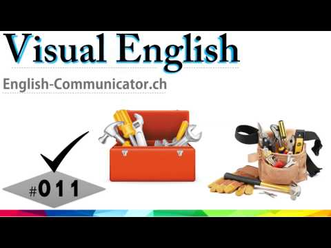 #011 Visual English Language Learning Practical Vocabulary Training Tools l Instruments l Accessorie