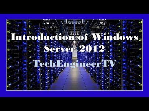 Introduction of Windows Server 2012