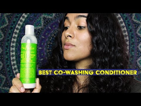 The Best Co-Washing Conditioner (Shea Moisture African Water Mint & Ginger)